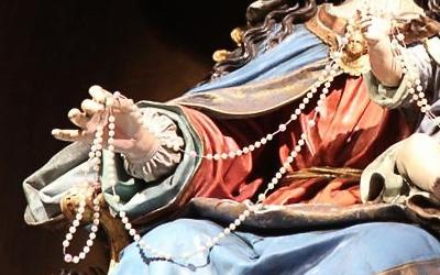 Virgen del Rosario, dominicos