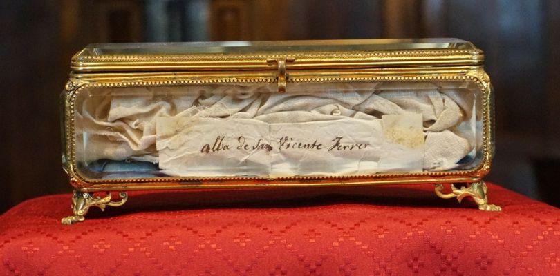 basilica vicente ferrer inicio jubileo reliquia