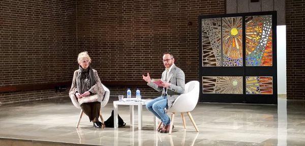 Diálogo de Antonio Praena y Ana Rossetti
