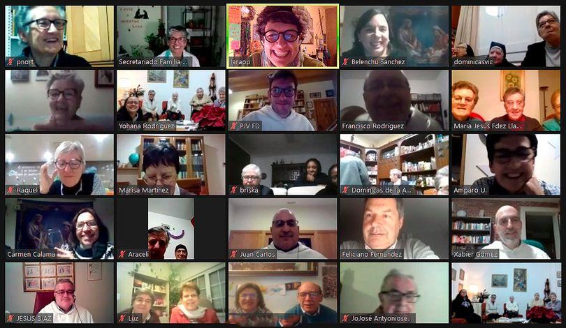 encuentro online Familia dominicana