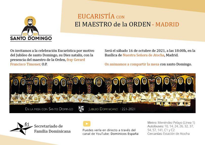 invitacion misa maestro atocha 2021
