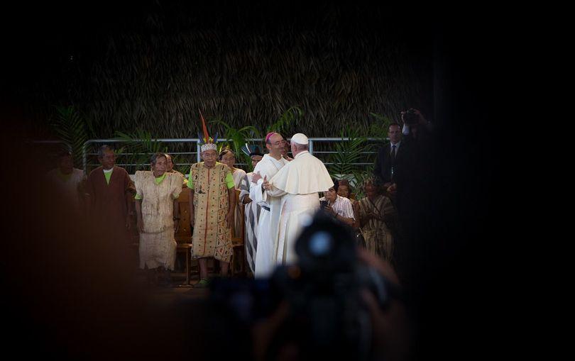 mons david papa francisco