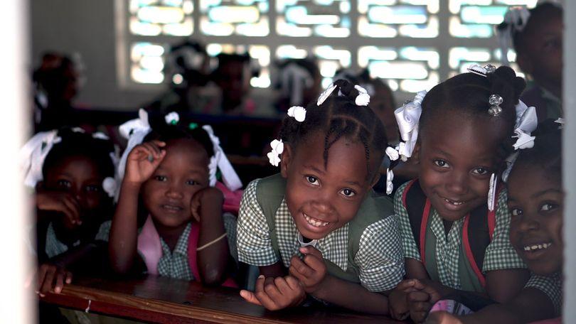 niñas haiti
