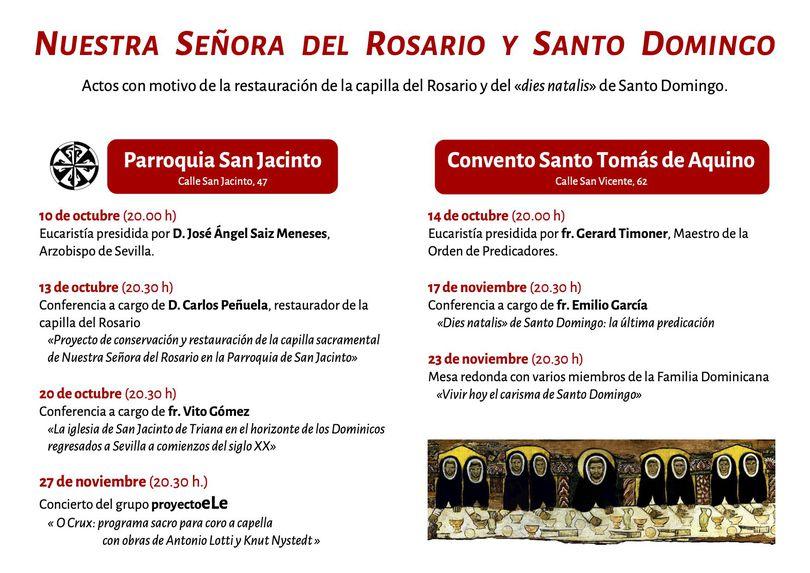 ntra sra rosario y sto domingo sevilla 2021