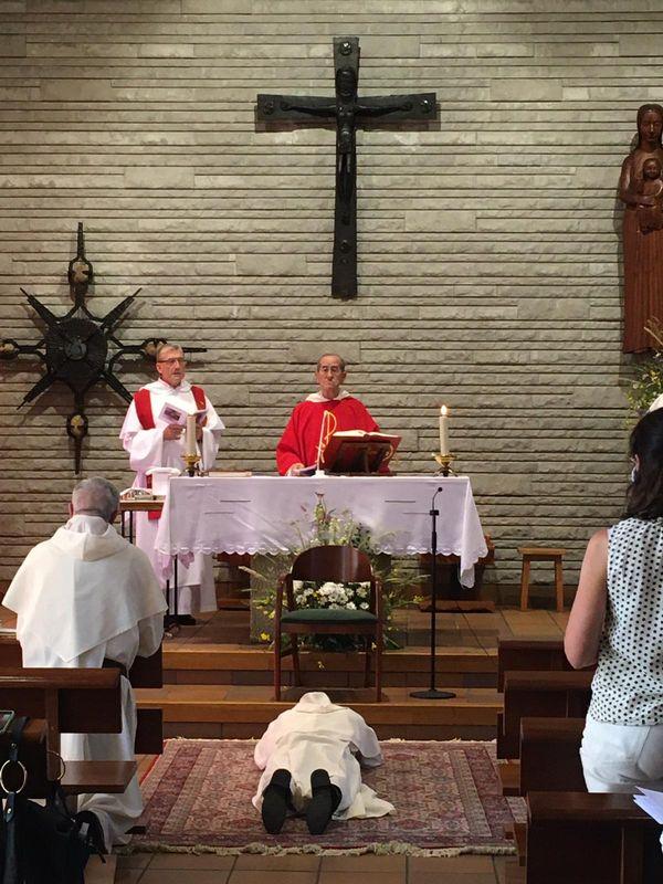 ordenacion diaconal Sebastián Vera 1
