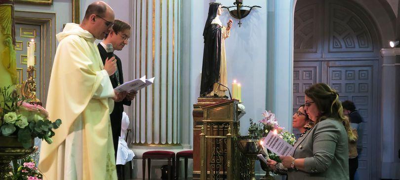 Promesa Solemne de Carmen y Gema en Atocha