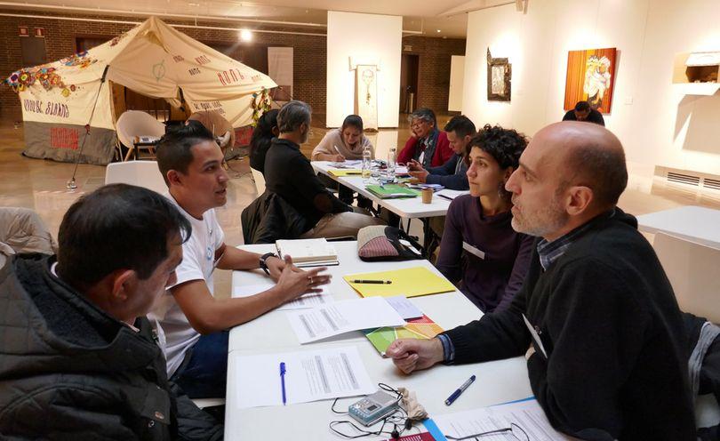 taller derechos humanos y clima