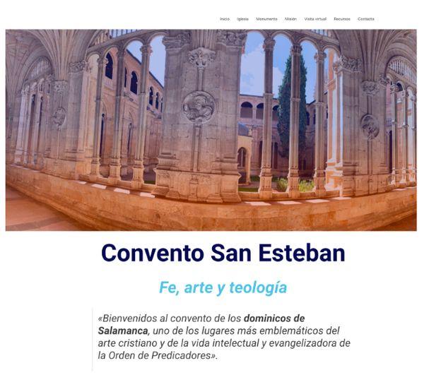 web convento san esteban